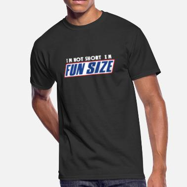Snickers I M Not Short I M Fun Sized Snickers Marathan Funn - Men's 50/50 T-Shirt