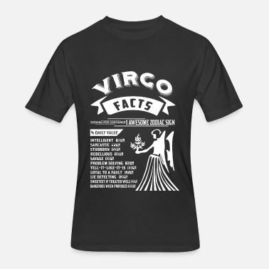 Virgo Facts VIRGO FACTS - Men's 50/50 T-Shirt