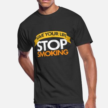 Cigarrillo Stop Smoking, No Smoker, No Smoking - Men's 50/50 T-Shirt