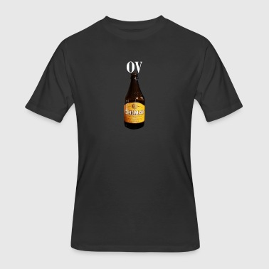 OV Beer Bottle - Men's 50/50 T-Shirt