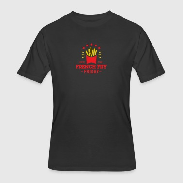 French Fry Friday - Men's 50/50 T-Shirt