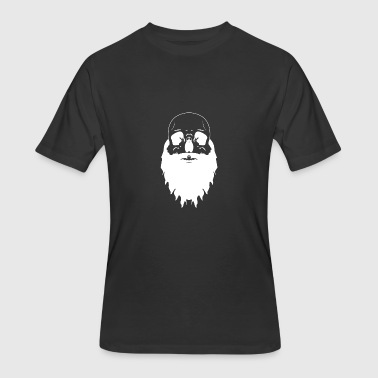 Bearded Skull - Men's 50/50 T-Shirt