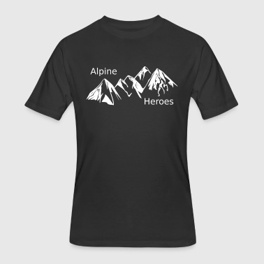 Alpine Heroes - Men's 50/50 T-Shirt