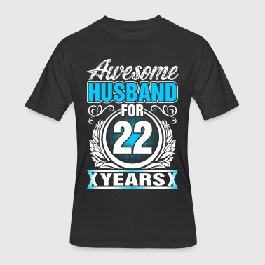 Awesome Husband for 22 Years - Men's 50/50 T-Shirt