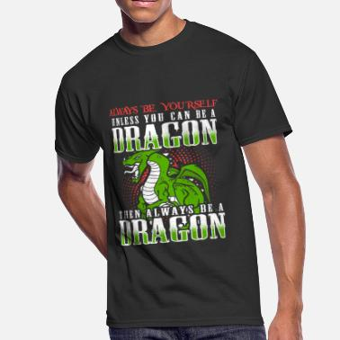 Chinese Quotes Dragon, Dragon Lover, Chinese Dragon, Quote - Men's 50/50 T-Shirt