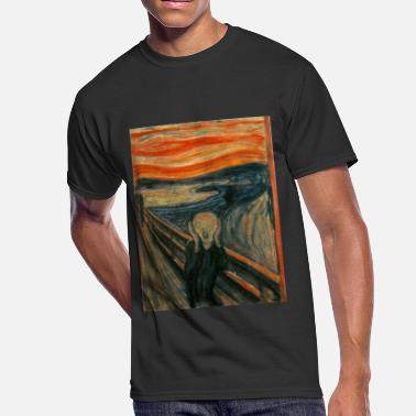 Munch The Scream (Edvard Munch) - Men's 50/50 T-Shirt