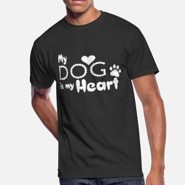 My Dog My Dog is My Heart - Men's 50/50 T-Shirt