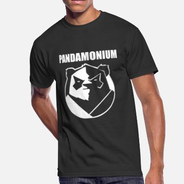 Pandamonium Pandamonium - Men's 50/50 T-Shirt