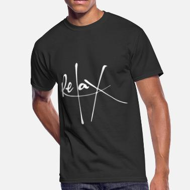 We The Resilient Relax Calligraphic Typography - Men's 50/50 T-Shirt