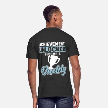 Game Achievement Achievement Unlocked Become A Daddy Gaming - Men's 50/50 T-Shirt