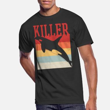 Killer Whale Killer Whale - Men's 50/50 T-Shirt