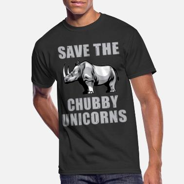 Save Save the chubby unicorns funny t-shirt - Men's 50/50 T-Shirt