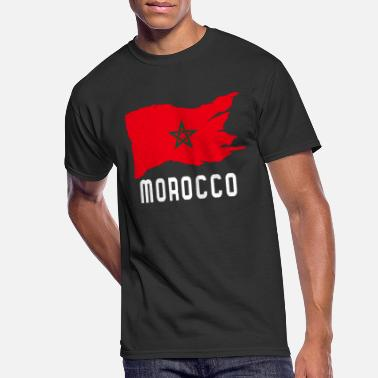 Morocco Flag - Men's 50/50 T-Shirt