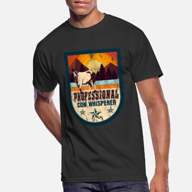 Livestock Cow farm animal gift - Men's 50/50 T-Shirt