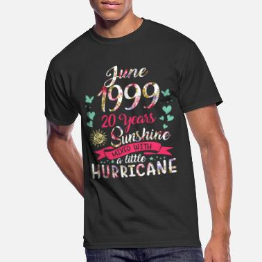 20 June 1999 20 years of being sunshine mix hurricane - Men's 50/50 T-Shirt