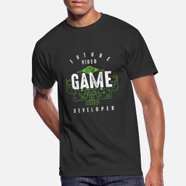 Develop Future Video Game Developer Computer Science - Men's 50/50 T-Shirt