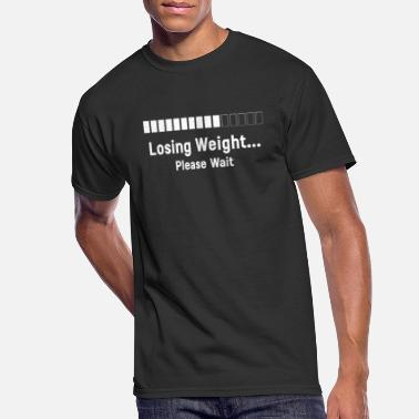 Losing Weight Losing Weight Please Wait Diet Slimming Gift - Men's 50/50 T-Shirt