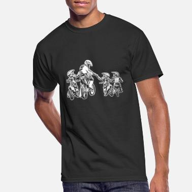 Riders Father's Day Riders Motorcycle Papa Motocross - Men's 50/50 T-Shirt
