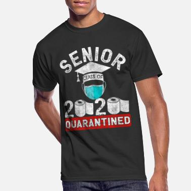 Senior Class Of 2020 Quarantine Paper Graduation - Men's 50/50 T-Shirt