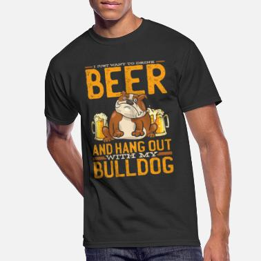 Bulldog Bulldog English Bulldog Bulldogs - Men's 50/50 T-Shirt