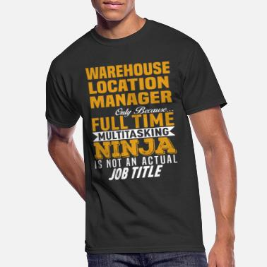 Location Warehouse Location Manager - Men's 50/50 T-Shirt