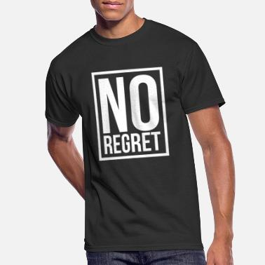 Regret NO REGRET - Men's 50/50 T-Shirt