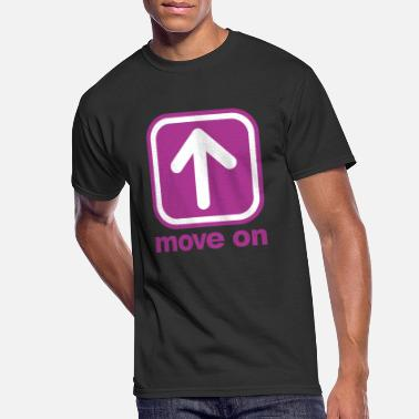 Moving MOVE ON MOVE ON - Men's 50/50 T-Shirt