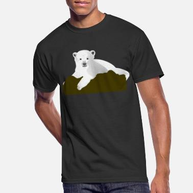 Knut Knut the Polar Bear - Men's 50/50 T-Shirt