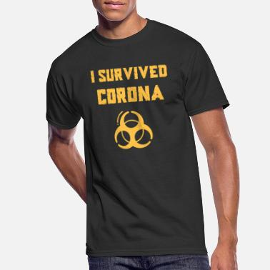 Epidemic I Survived Corona Virus Coronavirus epidemic - Men's 50/50 T-Shirt