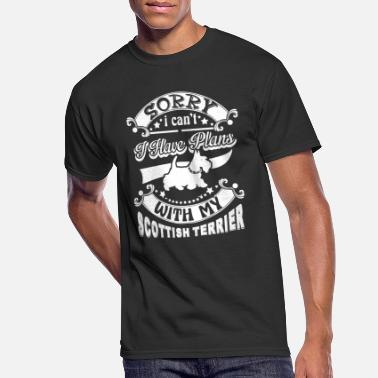 Scottish Terrier T Shirt - Men's 50/50 T-Shirt