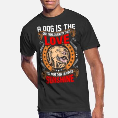 Dog Is Love Golden Retriever A Dog is The Love Golden Retriever - Men's 50/50 T-Shirt