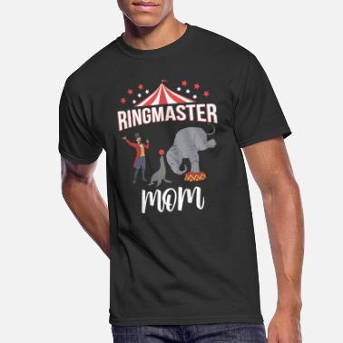 Ringmaster Teacher Circus Event Staff Gifts Circus Ringmaster Mom - Men's 50/50 T-Shirt