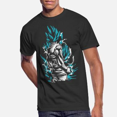 Ball Dragon Ball - Goku SSB - Men's 50/50 T-Shirt