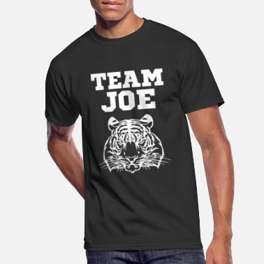 Team Joe Tiger Series Free King Cat Quote Carole - Men's 50/50 T-Shirt