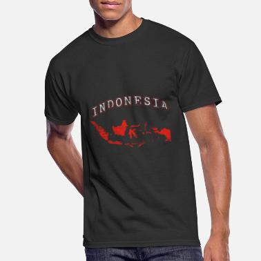 Southeast Asia Indonesia Flag Indonesian Asia Southeast Asia Gift - Men's 50/50 T-Shirt