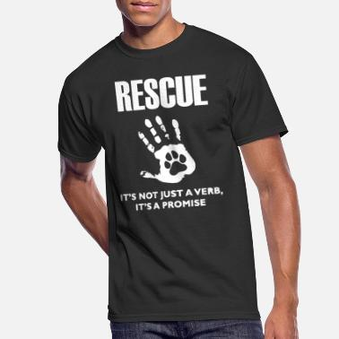 Rescue Rescue Dog - Men's 50/50 T-Shirt