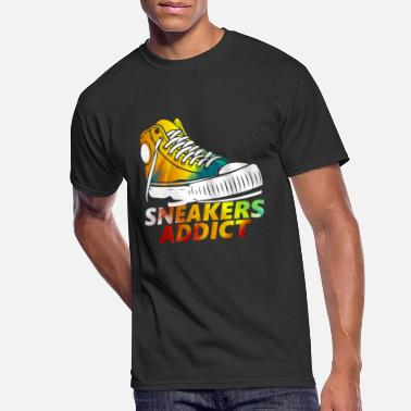Addicted Sneakers Shoes Addict sports gift - Men's 50/50 T-Shirt