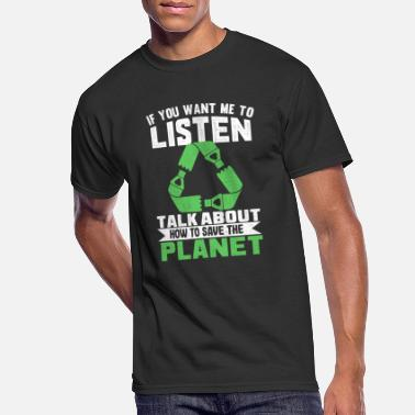 Protect Environmentalist for a better future of the planet - Men's 50/50 T-Shirt
