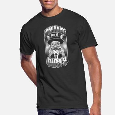 Mechanical Engineering Machine Mechanical Engineering Machines Repair Vehicles - Men's 50/50 T-Shirt