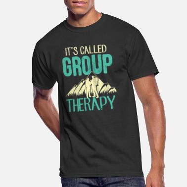 Hiking Group Hiking Group Therapy - Men's 50/50 T-Shirt