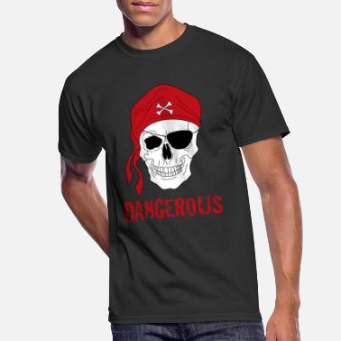 Piracy Pirate skull - Men's 50/50 T-Shirt