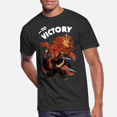 To Victory WW2 - Men's 50/50 T-Shirt