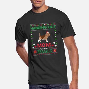Shop Beagle Puppy Xmas T Shirts online | Spreadshirt