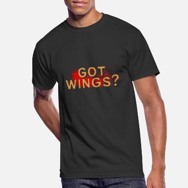 funny women/'s t-shirt Wing it bird