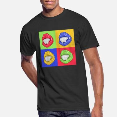 Spartan pop-art - Men's 50/50 T-Shirt