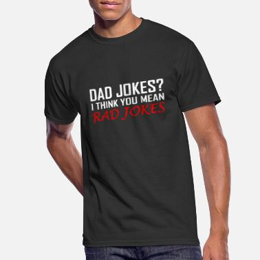Joke Dad Jokes - Men's 50/50 T-Shirt