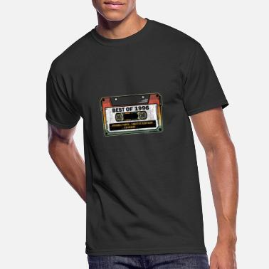 Cassette Best Of 1996 Vintage Cassette Funny Birthday Gift - Men's 50/50 T-Shirt