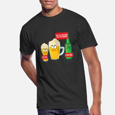 Binge Drinker Save Water Drink Beer - Men's 50/50 T-Shirt