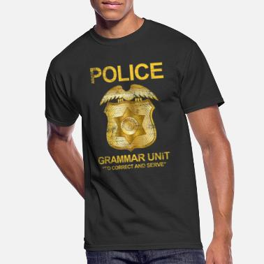 Convict Criminals Grammar police gift job criminals correct language - Men's 50/50 T-Shirt