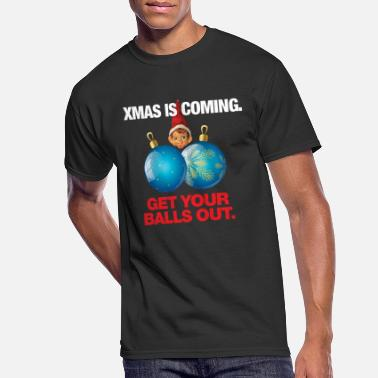 Decoration Xmas Ball XMAS BALLS SHIRT - Men's 50/50 T-Shirt